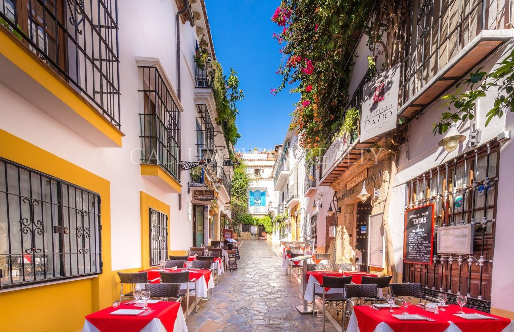 El maravilloso casco antiguo de Marbella