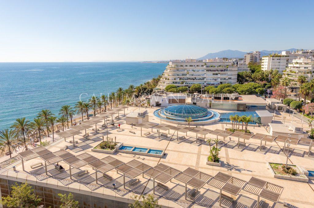 Vivir en un ático: estilo Marbella