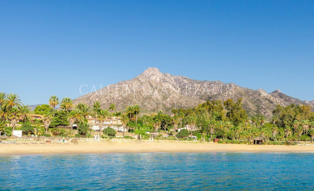 Vivir en primera línea de Playa en Marbella