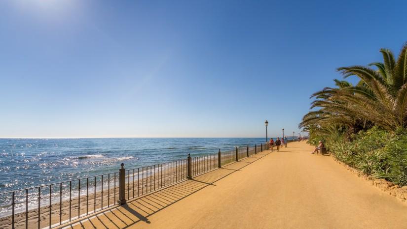 Marbella promenade