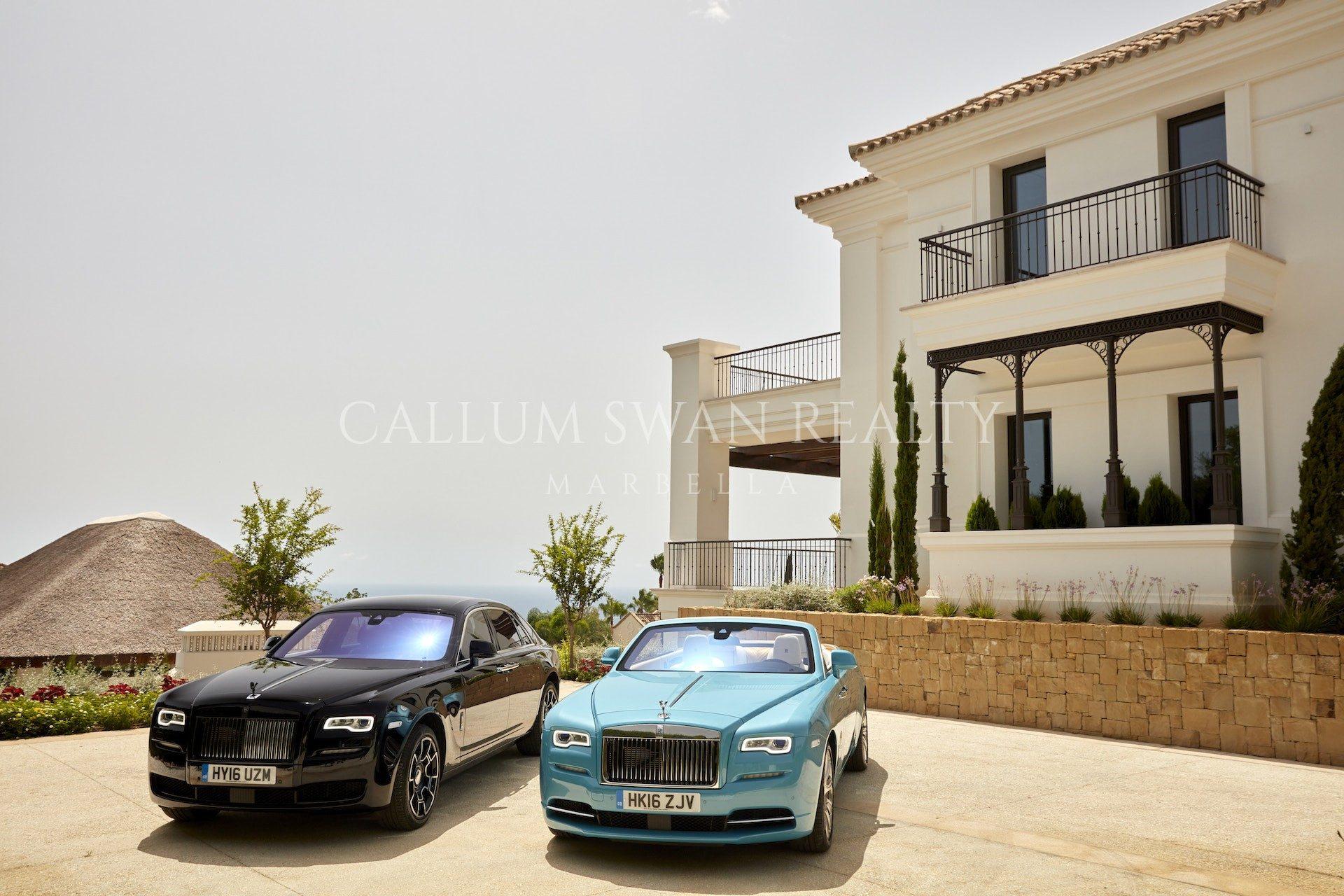 Rolls Royce Returns To Marbella With Callum Swan