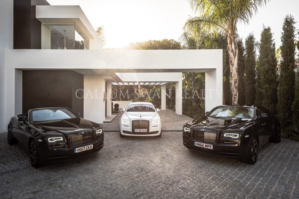 Experiencia de conducción Rolls-Royce en Sotogrande con Callum Swan Realty