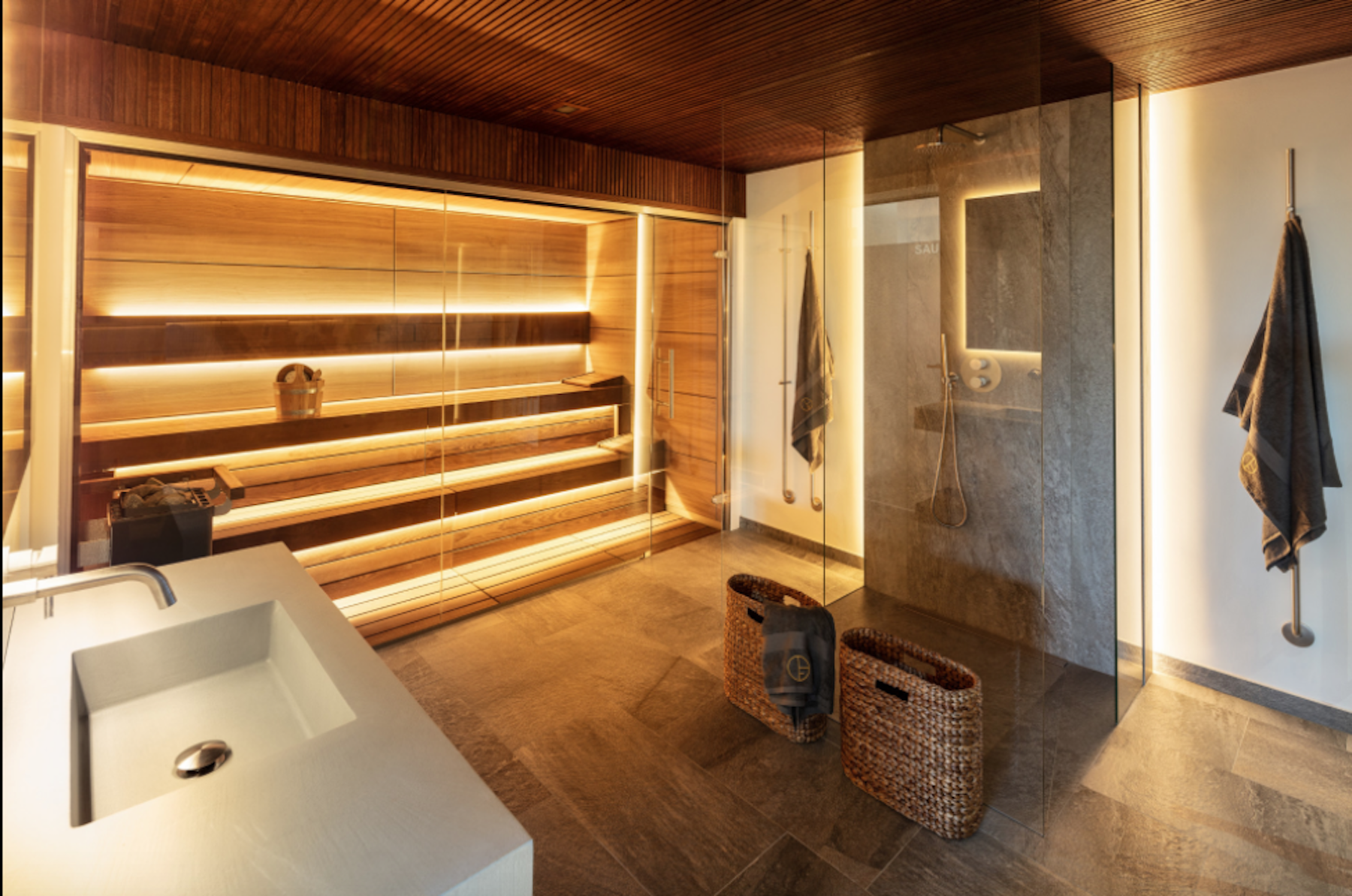 wellness and sauna in your Marbella home