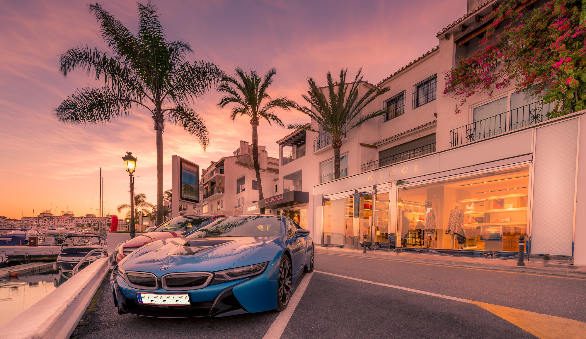 Big brands luxury shopping in Marbella