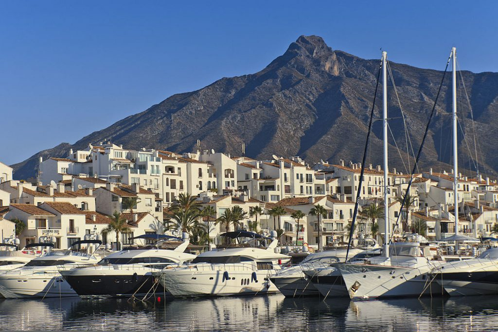 Big brands are attracted to Marbella