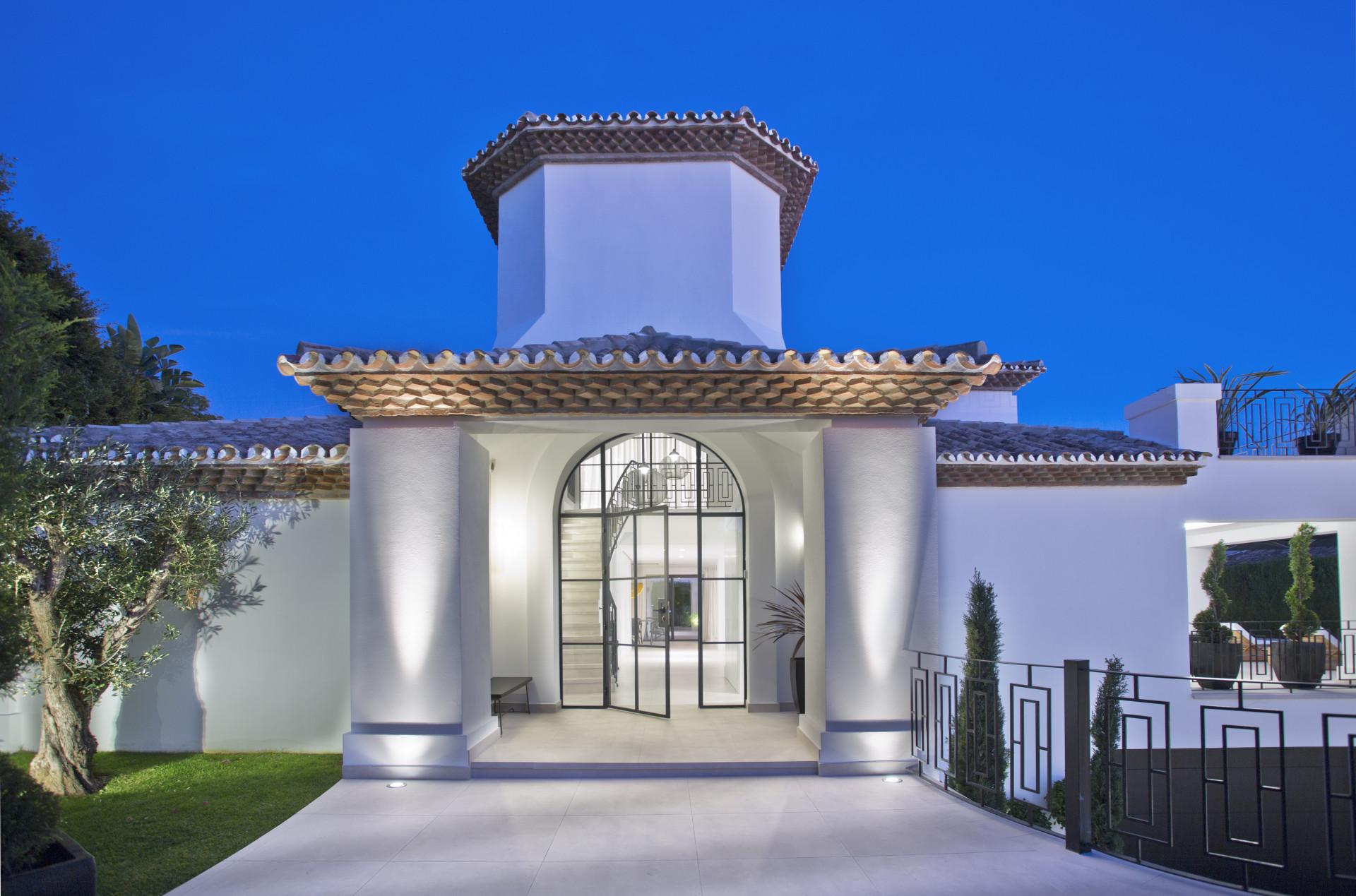 Villa de estilo mediterráneo en venta en Marbella
