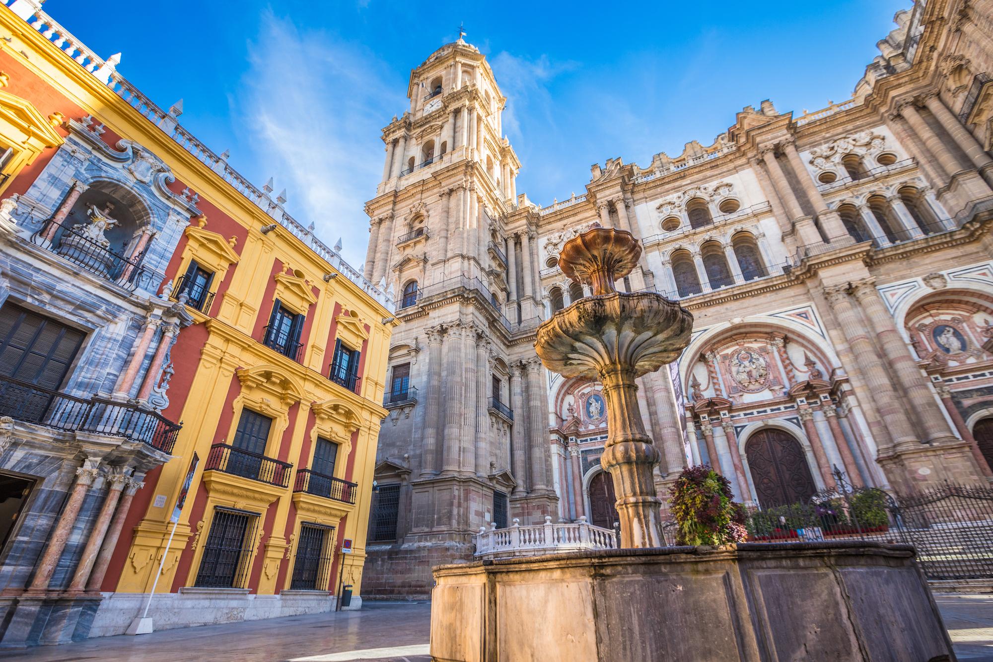 Málaga capital spain