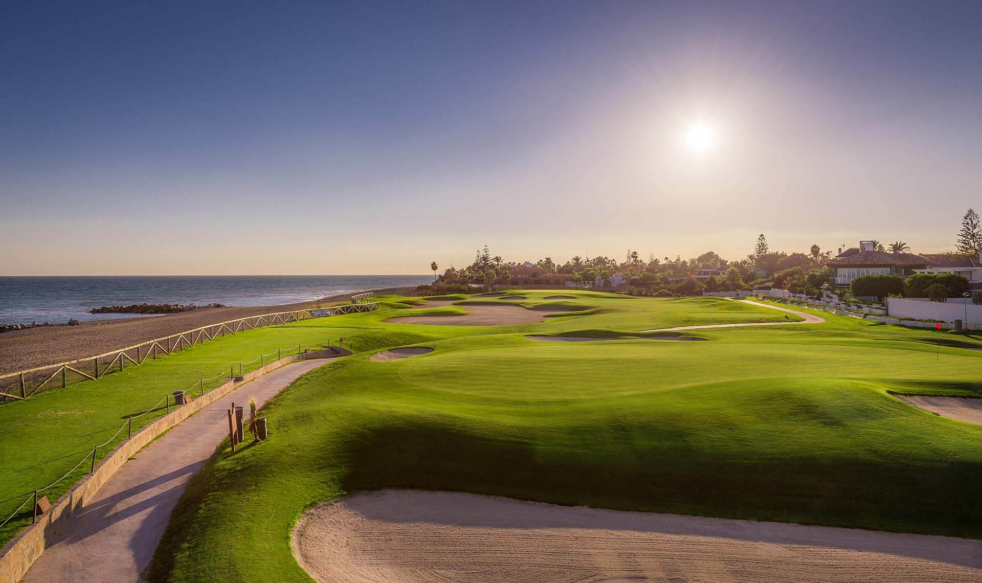 Luxury golfing options in Marbella